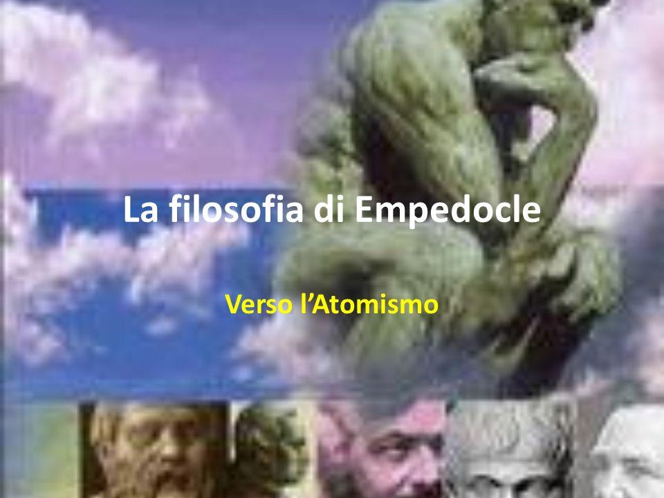 La filosofia di Empedocle