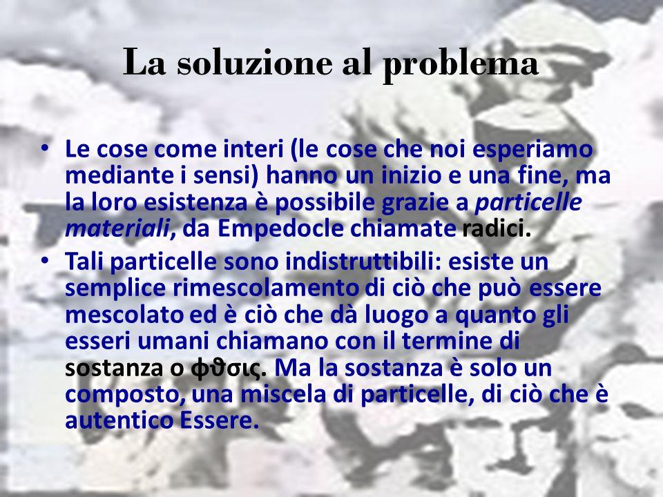 La soluzione al problema