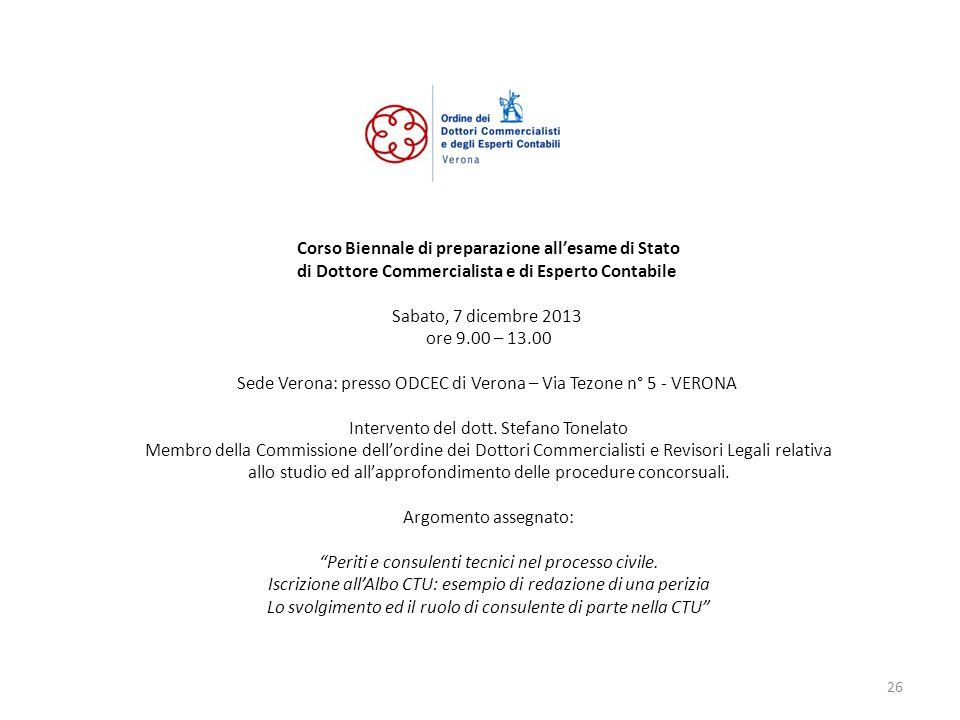 Corso Biennale di preparazione all'esame di Stato