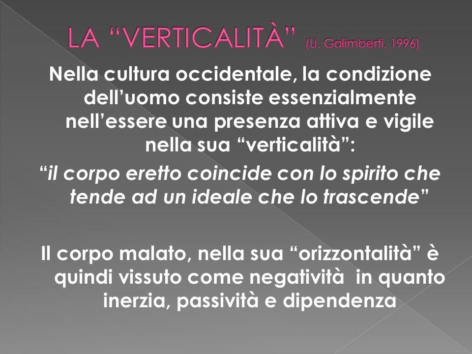 LA VERTICALITà (U. Galimberti, 1996)