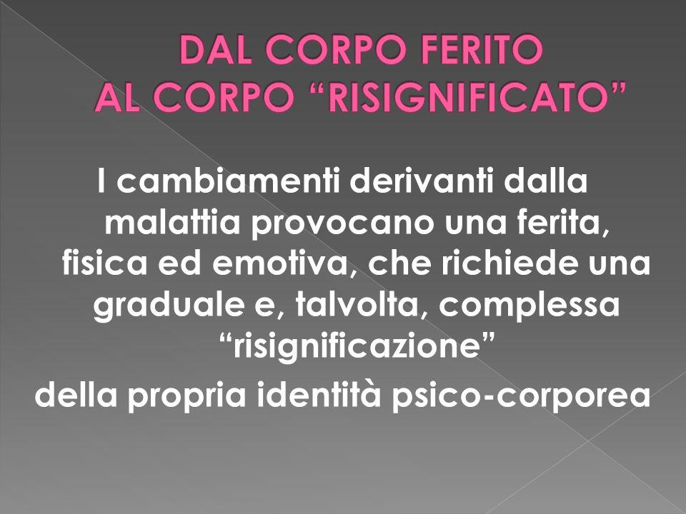 DAL CORPO FERITO AL CORPO RISIGNIFICATO