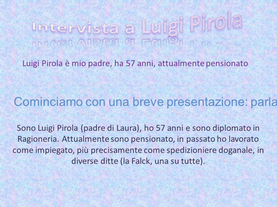 Intervista a Luigi Pirola
