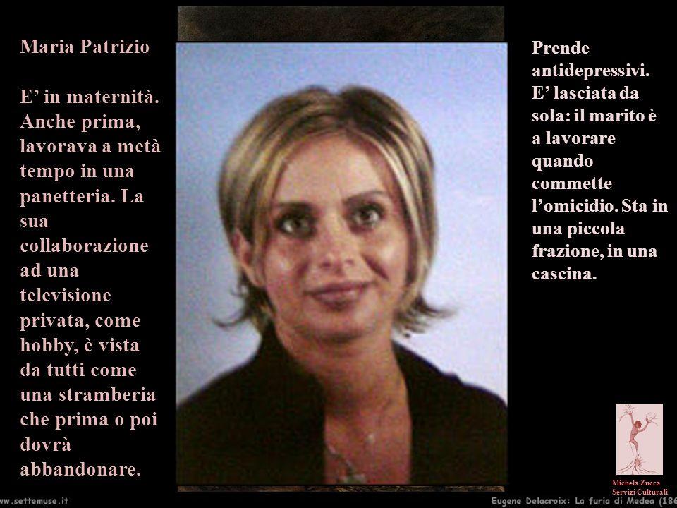 Maria Patrizio E' in maternità.