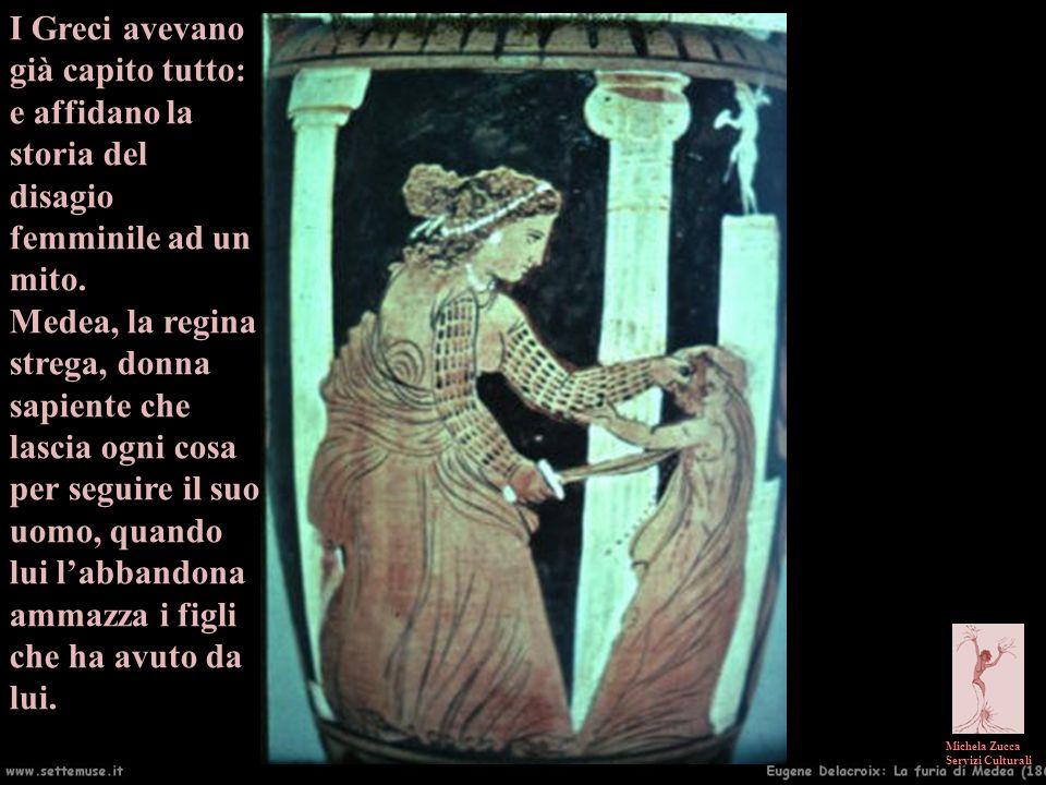 I Greci avevano già capito tutto: e affidano la storia del disagio femminile ad un mito.
