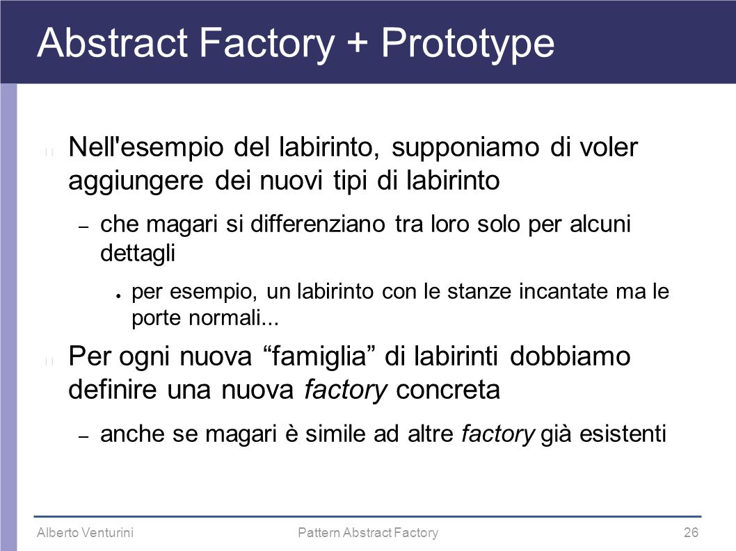 Abstract Factory + Prototype