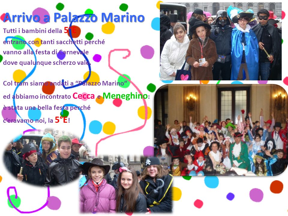 Arrivo a Palazzo Marino