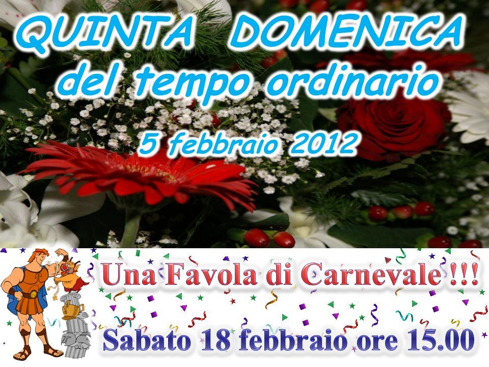 Una Favola di Carnevale !!!