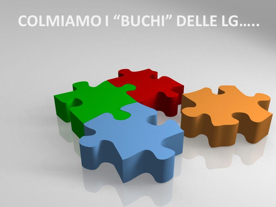 COLMIAMO I BUCHI DELLE LG…..