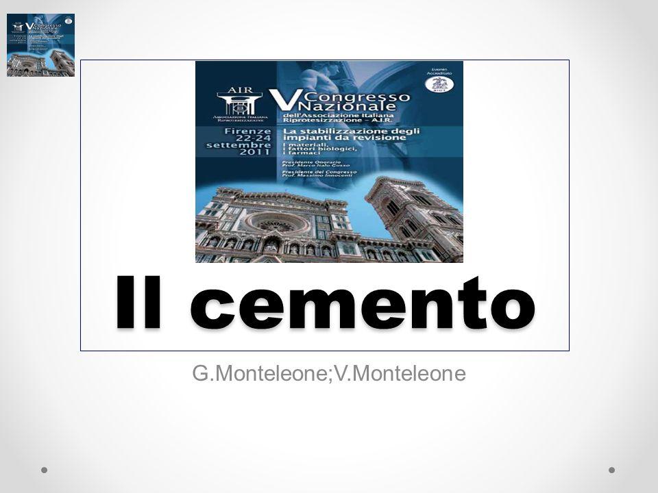G.Monteleone;V.Monteleone