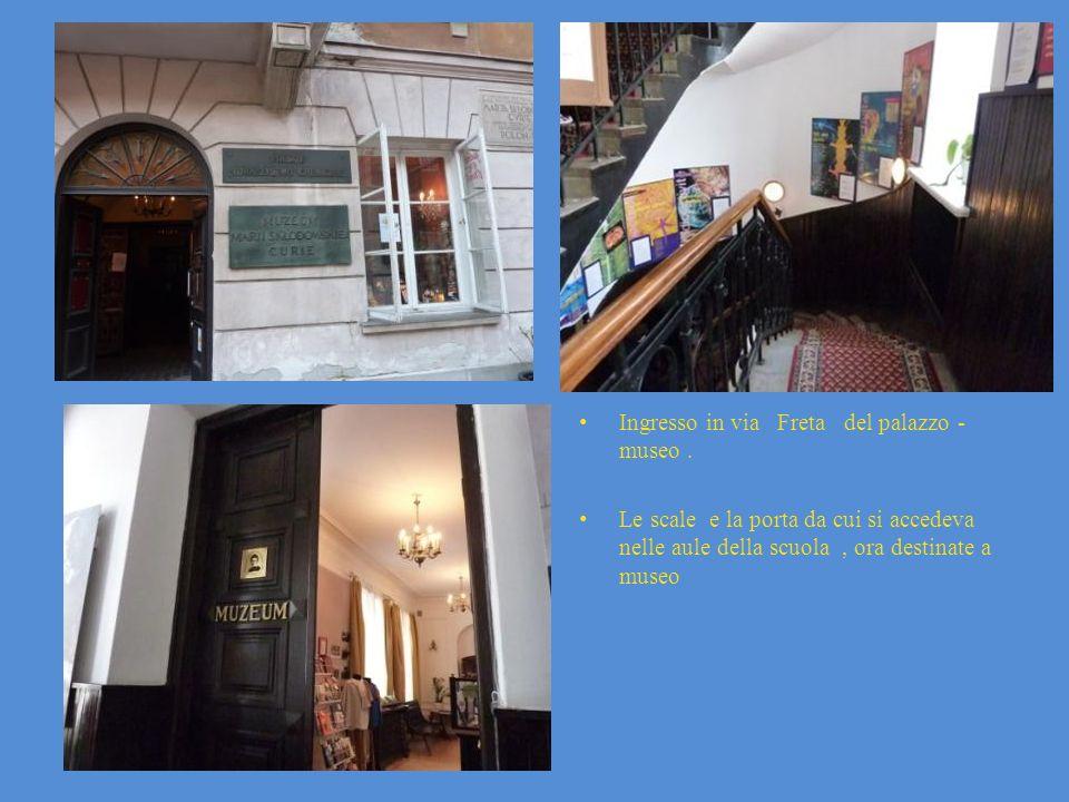 Ingresso in via Freta del palazzo -museo .