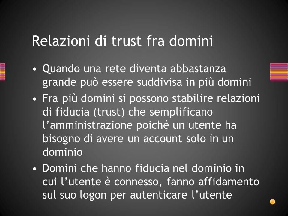 Relazioni di trust fra domini
