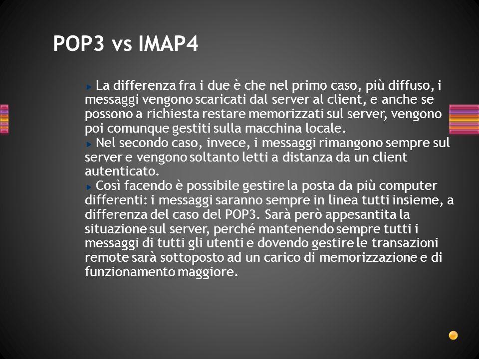 POP3 vs IMAP4