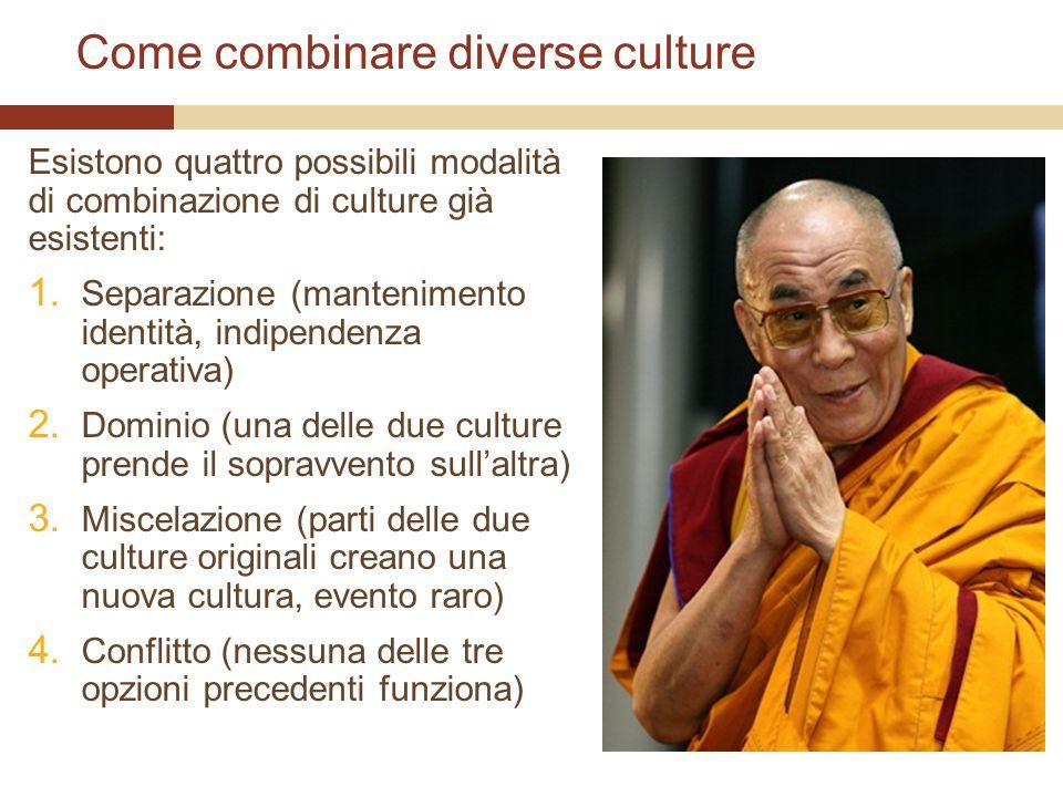 Come combinare diverse culture