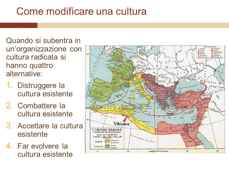 Come modificare una cultura
