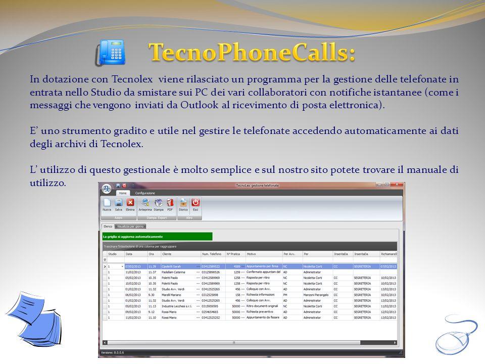 TecnoPhoneCalls: