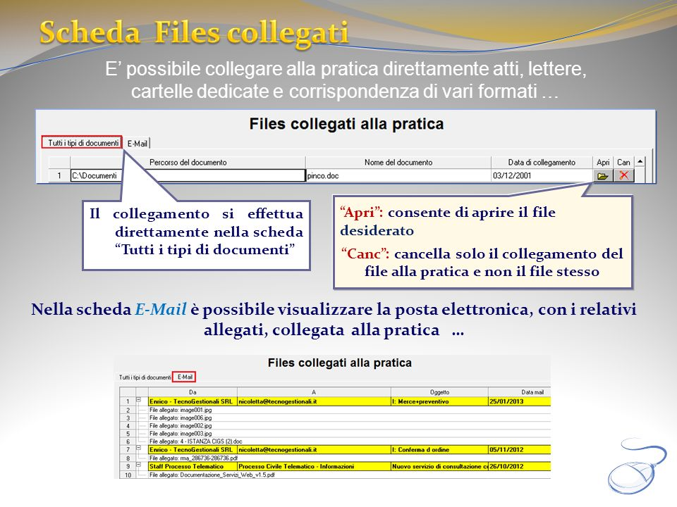 Scheda Files collegati