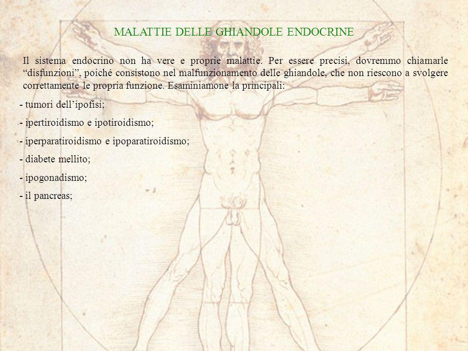 MALATTIE DELLE GHIANDOLE ENDOCRINE