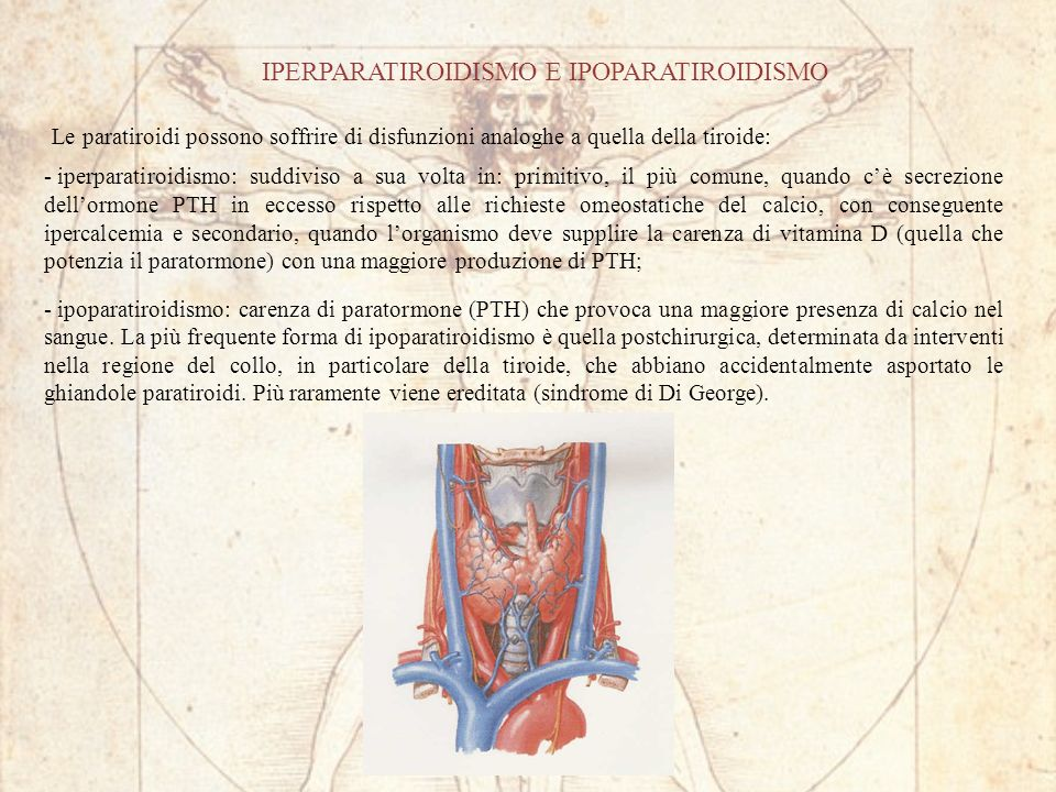 IPERPARATIROIDISMO E IPOPARATIROIDISMO
