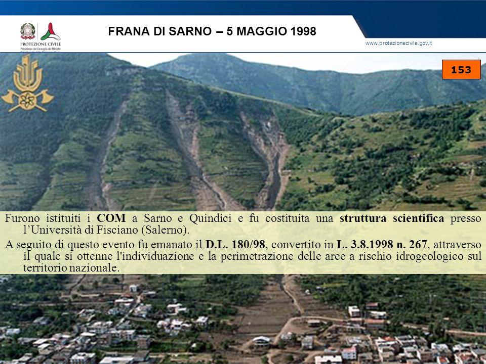 FRANA DI SARNO – 5 MAGGIO 1998 153.
