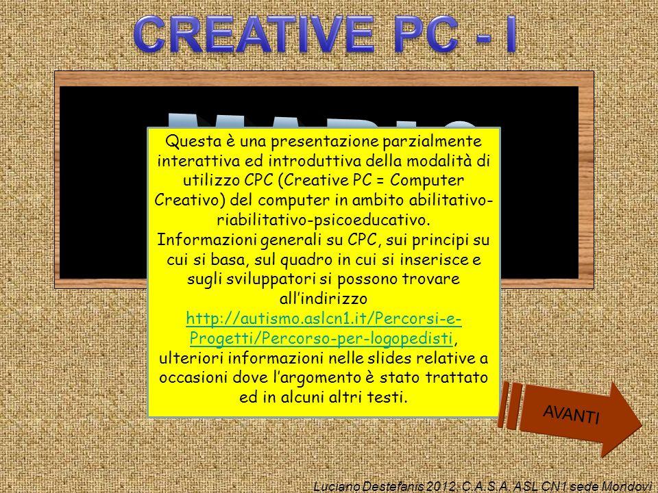 CREATIVE PC - I MARIO.