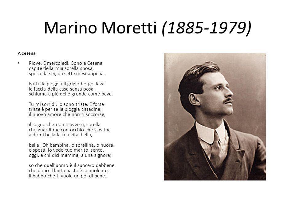 Marino Moretti (1885-1979) A Cesena.