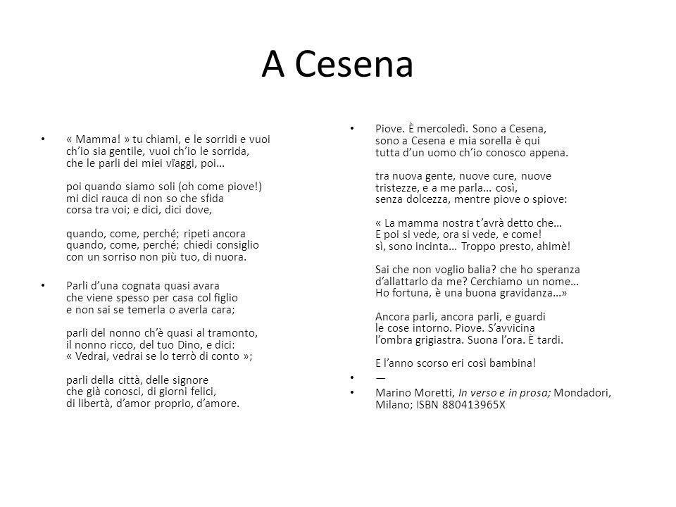 A Cesena