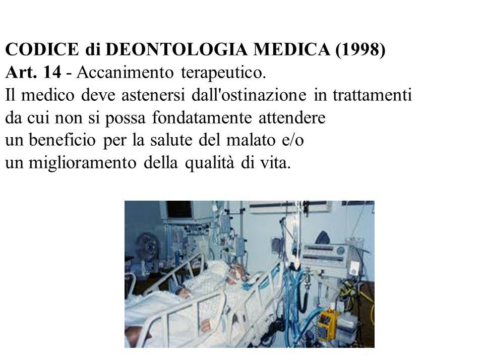 CODICE di DEONTOLOGIA MEDICA (1998)