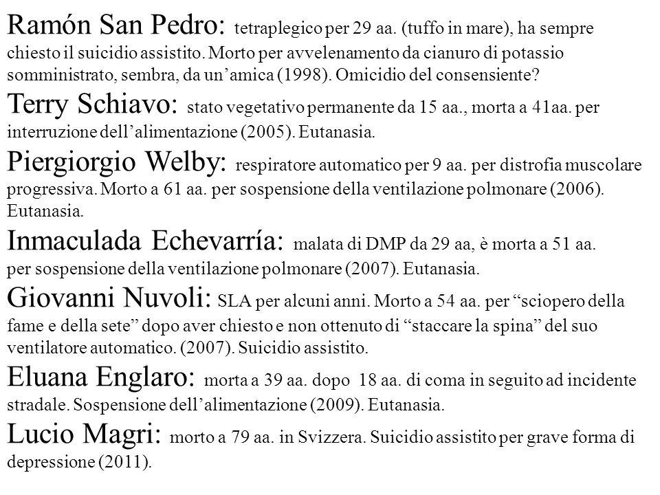 Ramón San Pedro: tetraplegico per 29 aa. (tuffo in mare), ha sempre