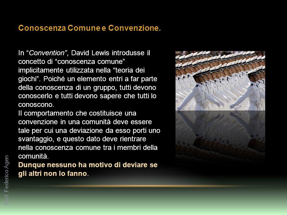 Conoscenza Comune e Convenzione.