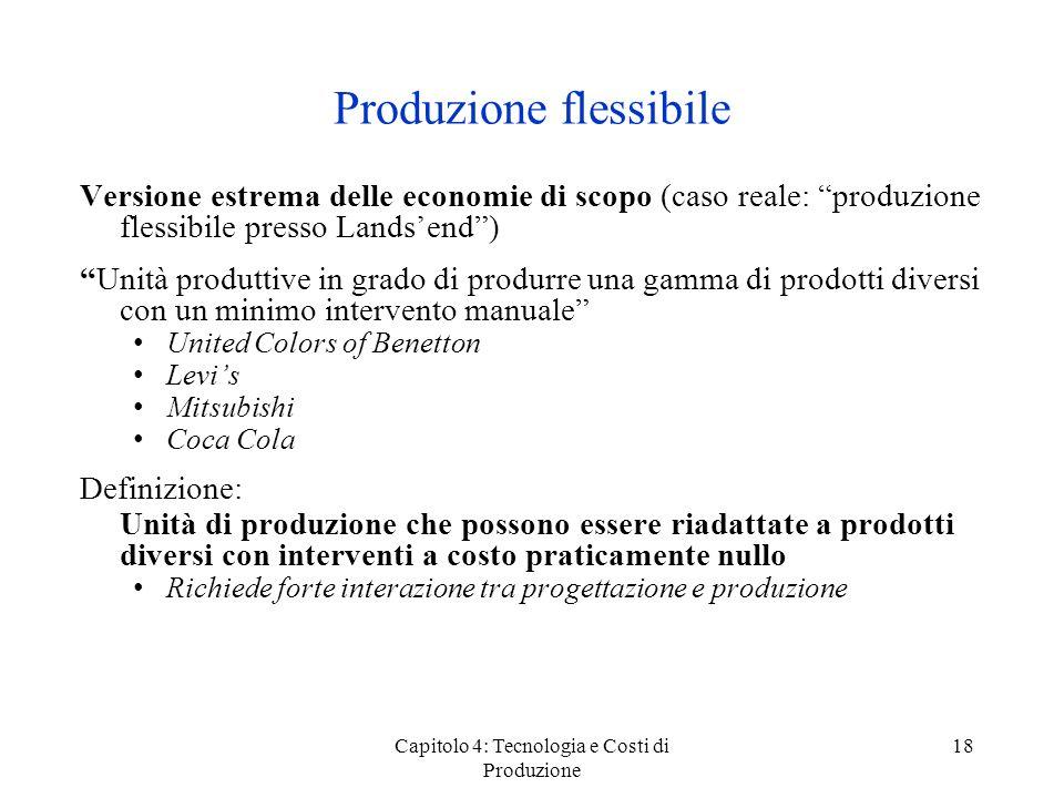 Produzione flessibile