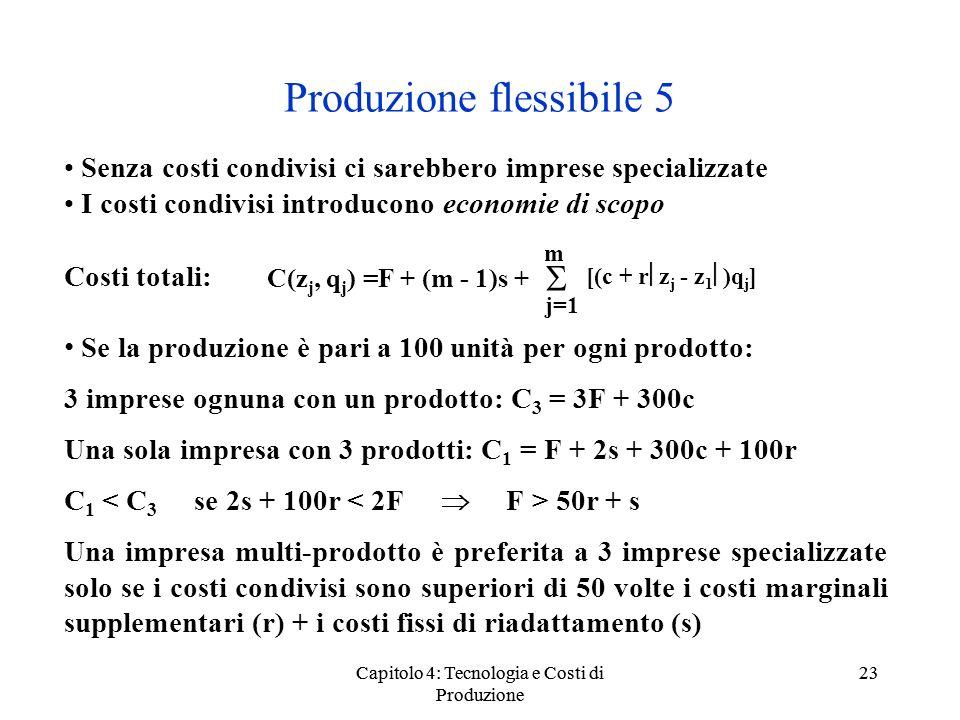 Produzione flessibile 5