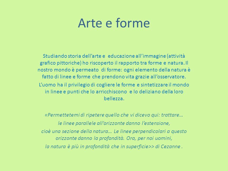 Arte e forme
