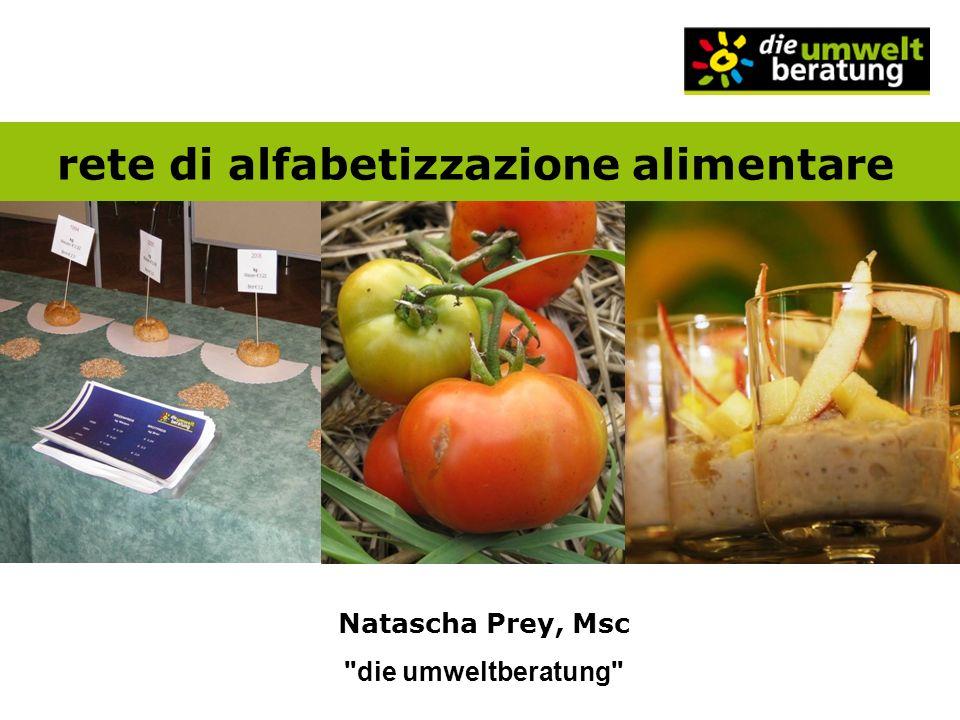 rete di alfabetizzazione alimentare