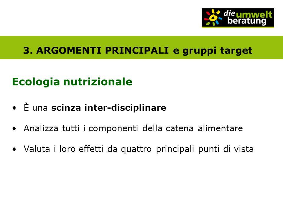 Ecologia nutrizionale