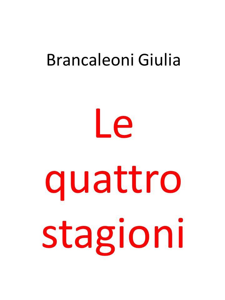Brancaleoni Giulia Le quattro stagioni