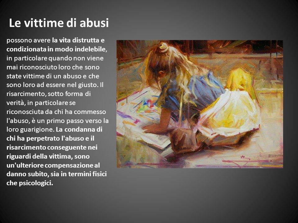 Le vittime di abusi