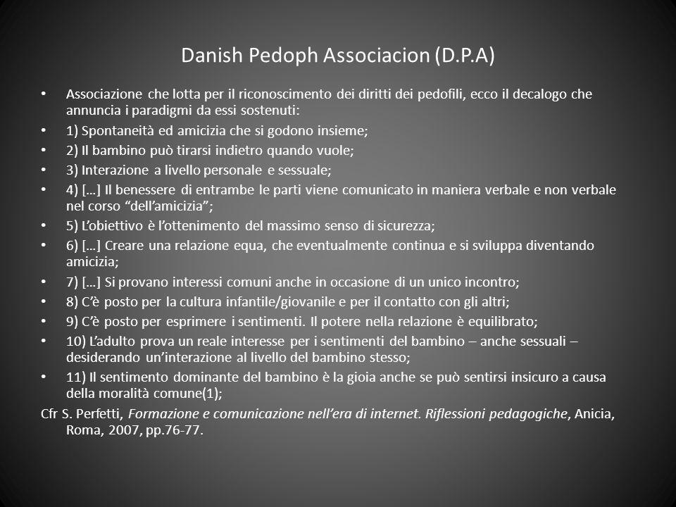 Danish Pedoph Associacion (D.P.A)