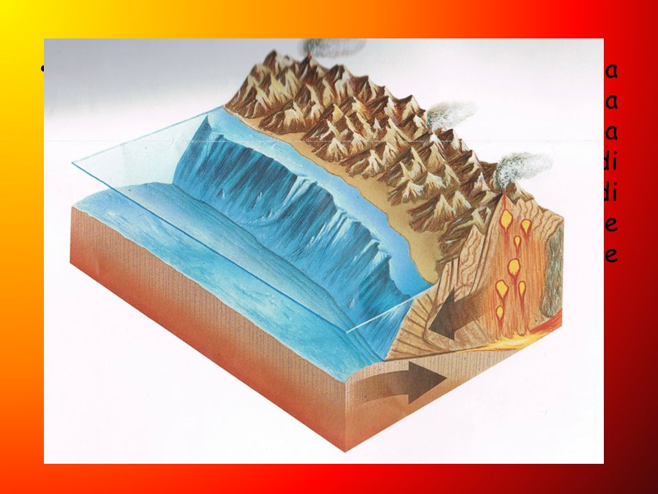 Se le zolle che si scontrano sono una continentale e una oceanica, quest'ultima sprofonda sotto l'altra.