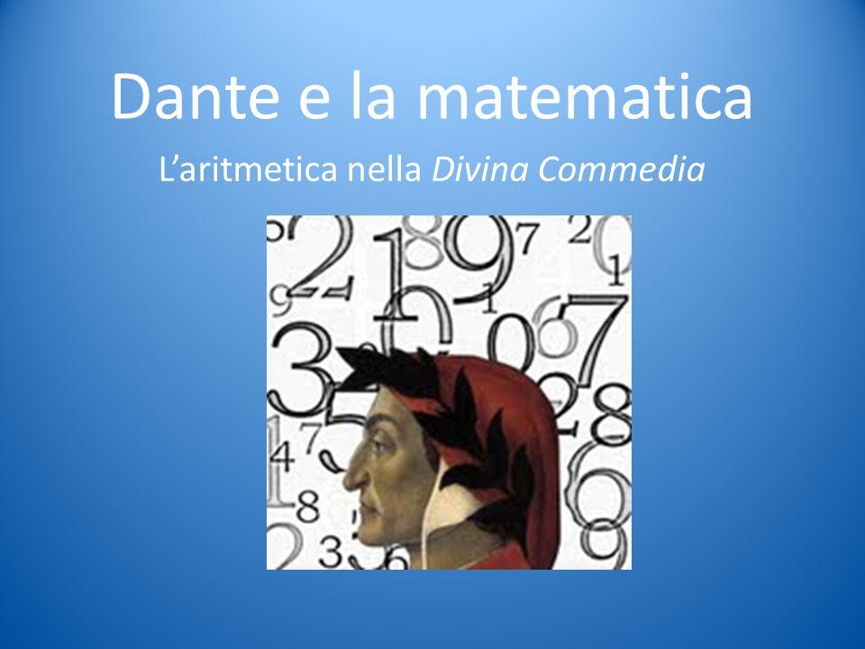 L'aritmetica nella Divina Commedia