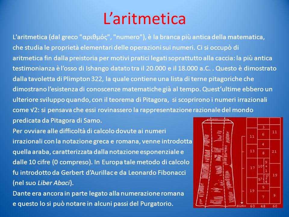 L'aritmetica