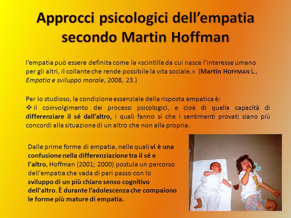Approcci psicologici dell'empatia secondo Martin Hoffman