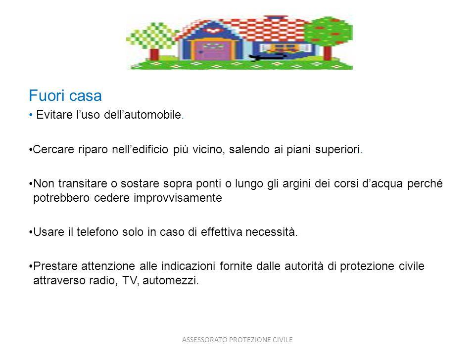 ASSESSORATO PROTEZIONE CIVILE