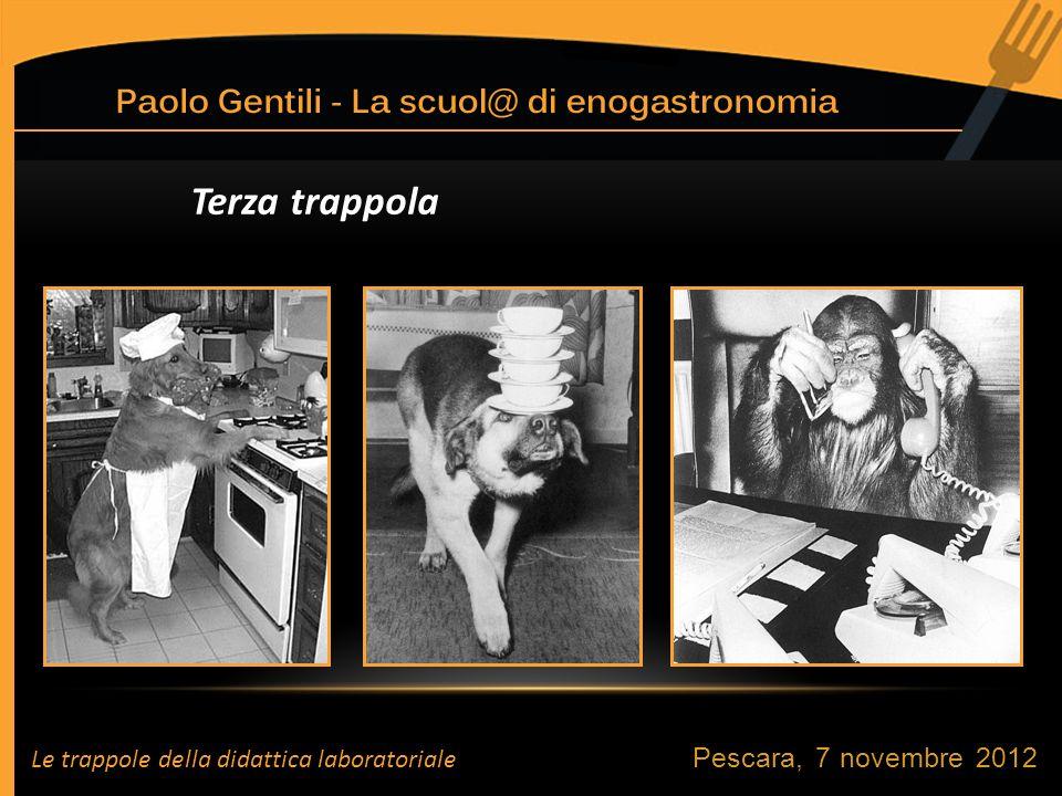 Terza trappola Pescara, 7 novembre 2012