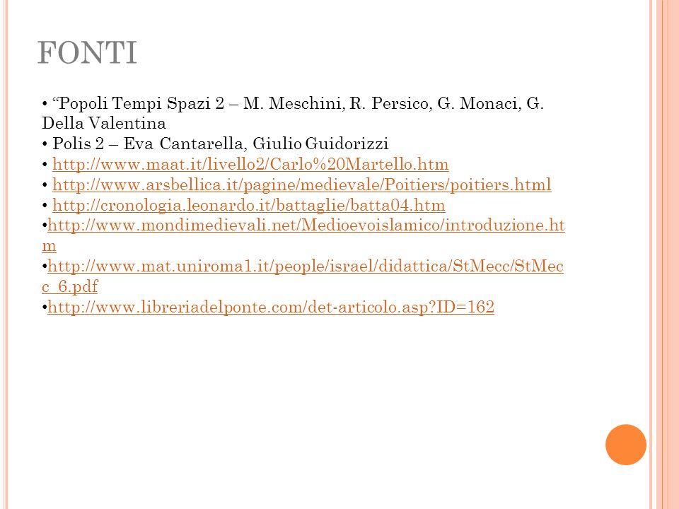 FONTI Popoli Tempi Spazi 2 – M. Meschini, R. Persico, G. Monaci, G. Della Valentina. Polis 2 – Eva Cantarella, Giulio Guidorizzi.
