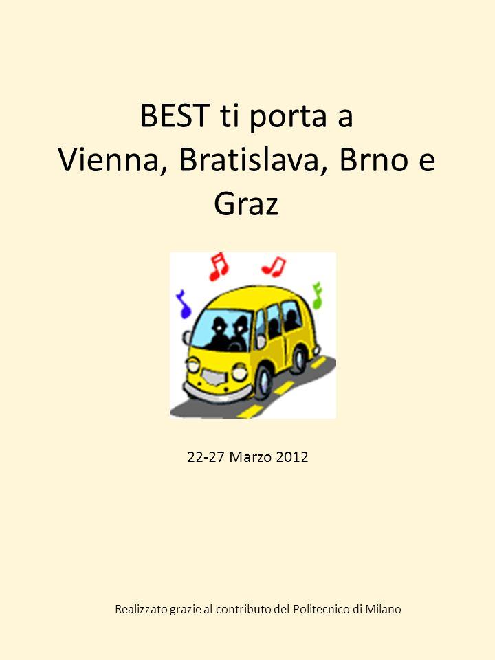 BEST ti porta a Vienna, Bratislava, Brno e Graz