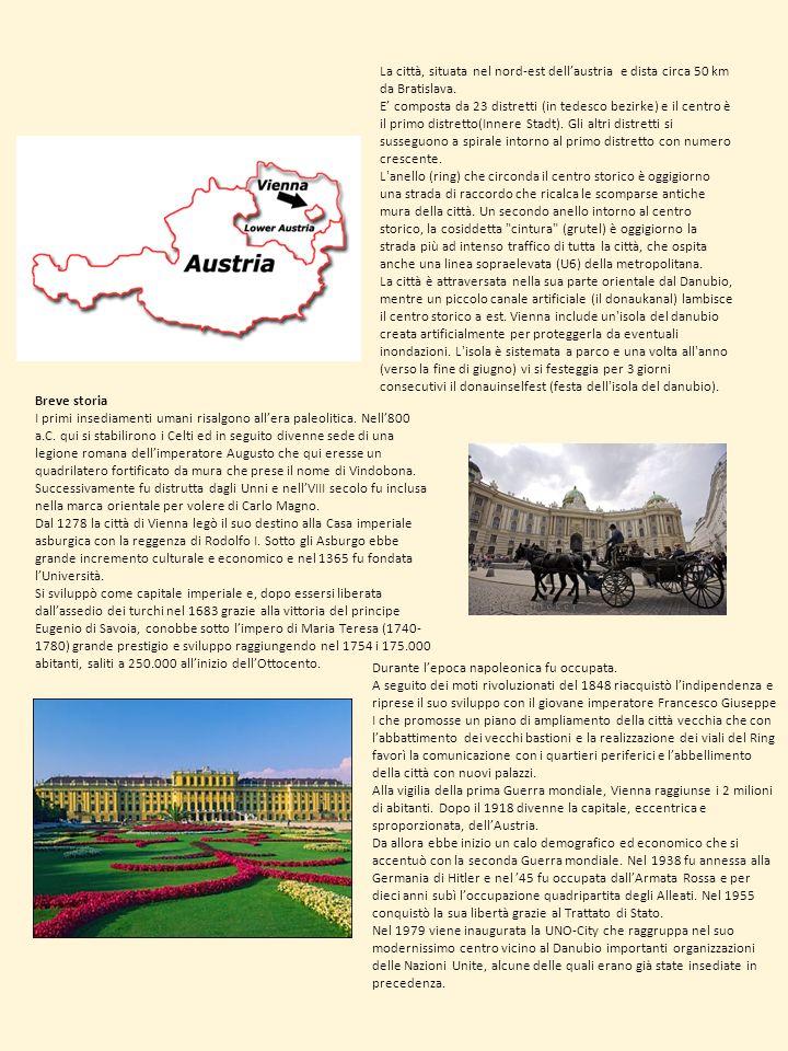 La città, situata nel nord-est dell'austria e dista circa 50 km da Bratislava.