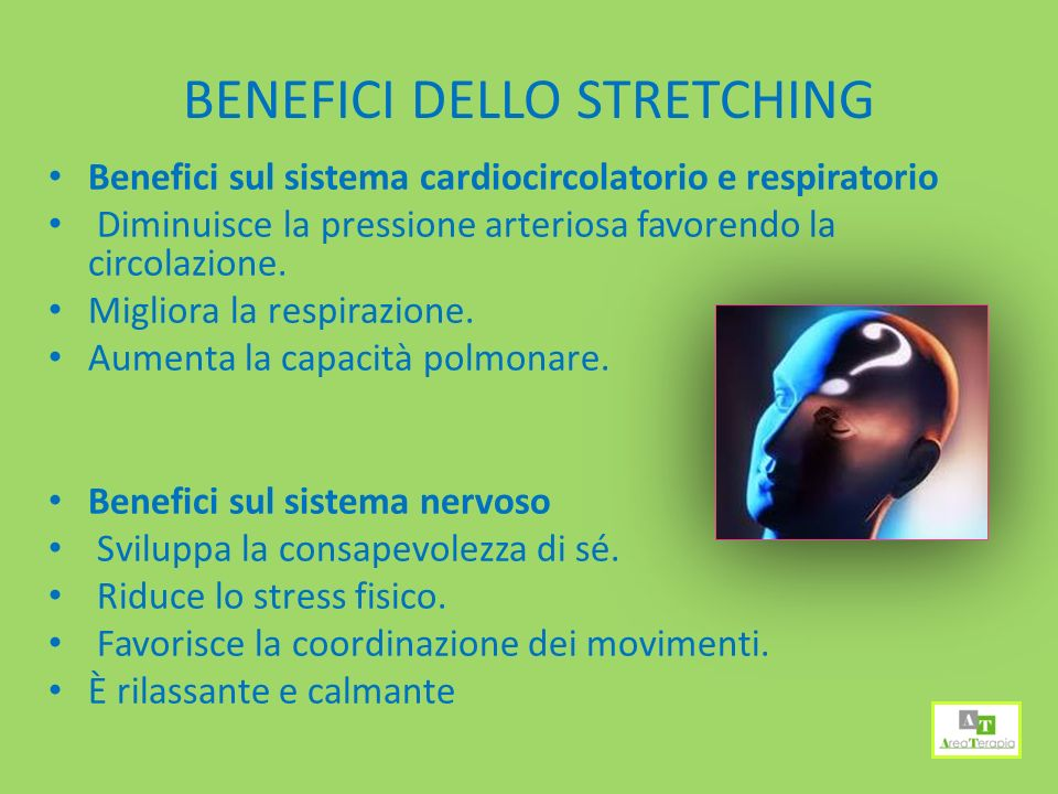 BENEFICI DELLO STRETCHING