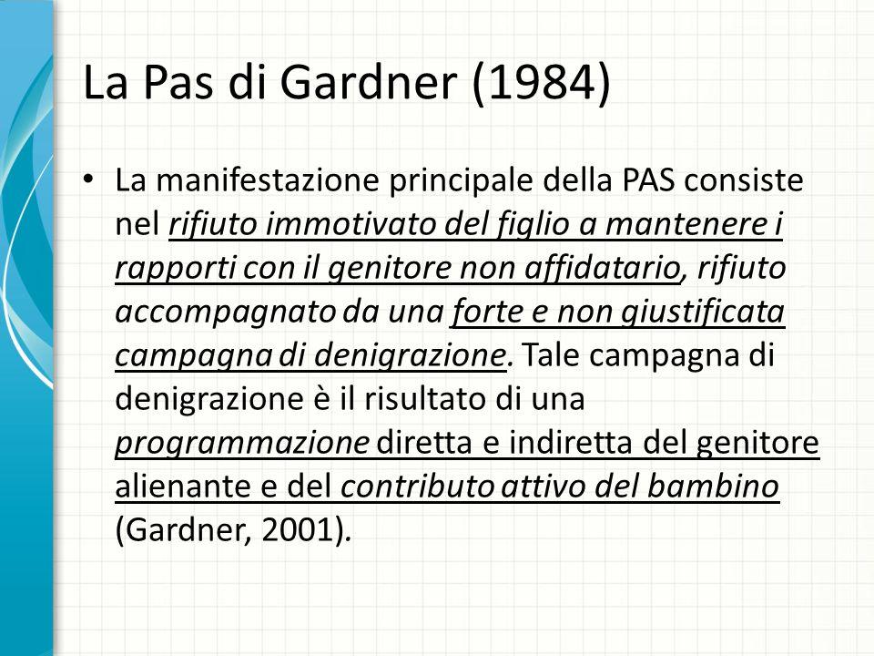 La Pas di Gardner (1984)