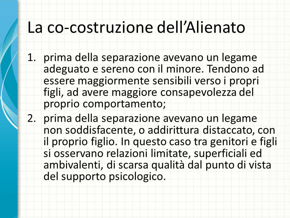 La co-costruzione dell'Alienato