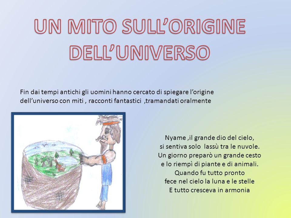 UN MITO SULL'ORIGINE DELL'UNIVERSO